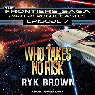 Who Takes No Risk audiobook cover art
