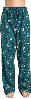 CYZ Women's 100% Cotton Super Soft Flannel Plaid Pajama/Lounge Pants