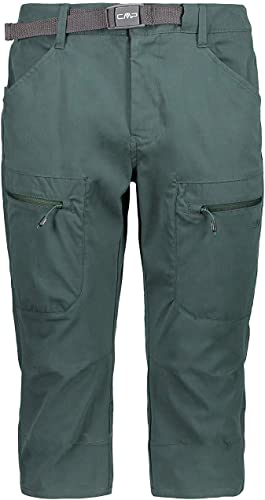CMP Pantalon Fonctionnel de plein airhosen Un Capri Vert Foncé Imperméable élastique