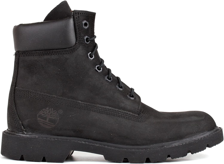 Timberland Mens 6-Inch Basic Waterproof Black Black Black Leather Boots 46 EU B000CQZVFG  c9fe39