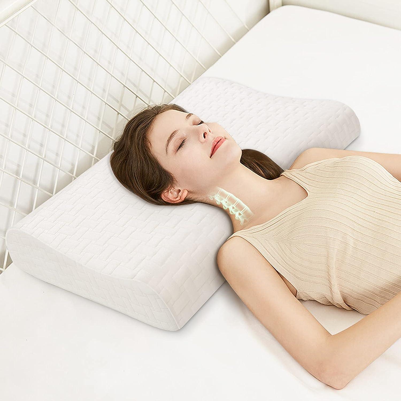 BEBEN Memory Foam Contour Pillow Lowest Ranking TOP3 price challenge Cervical for Pain Relie