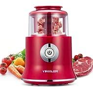 Yimaler Mini Food Chopper,... Yimaler Mini Food Chopper, Electric Kitchen Food Processor Meat Grinder for Vegetable Salads...