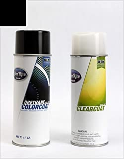 ColorRite Aerosol Automotive Touch-up Paint for BMW 3 - Jet Black Clearcoat 668 - Color+Clearcoat Package