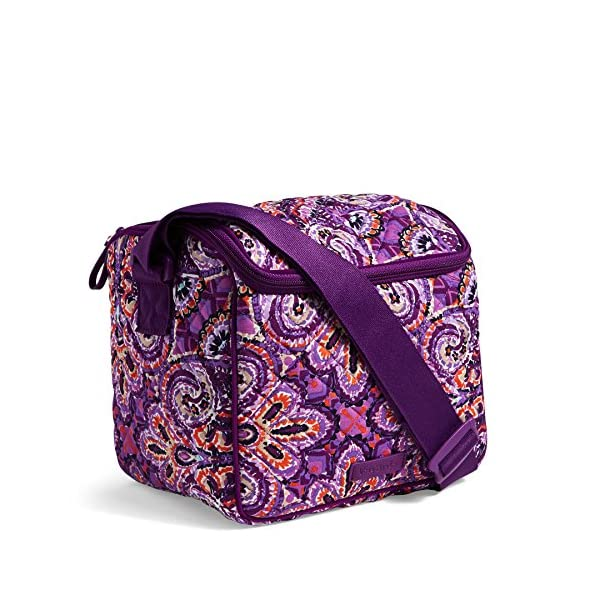 Vera Bradley Signature Cotton Stay Cooler Lunch Bag