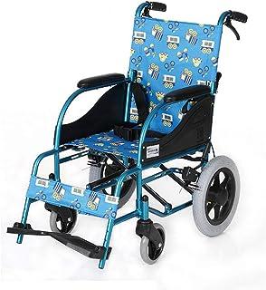 Sillas de Ruedas para niños Ligero y Plegable Transporte ergonómico Médico Avanzado Cómodo Apoyabrazos 80 kg