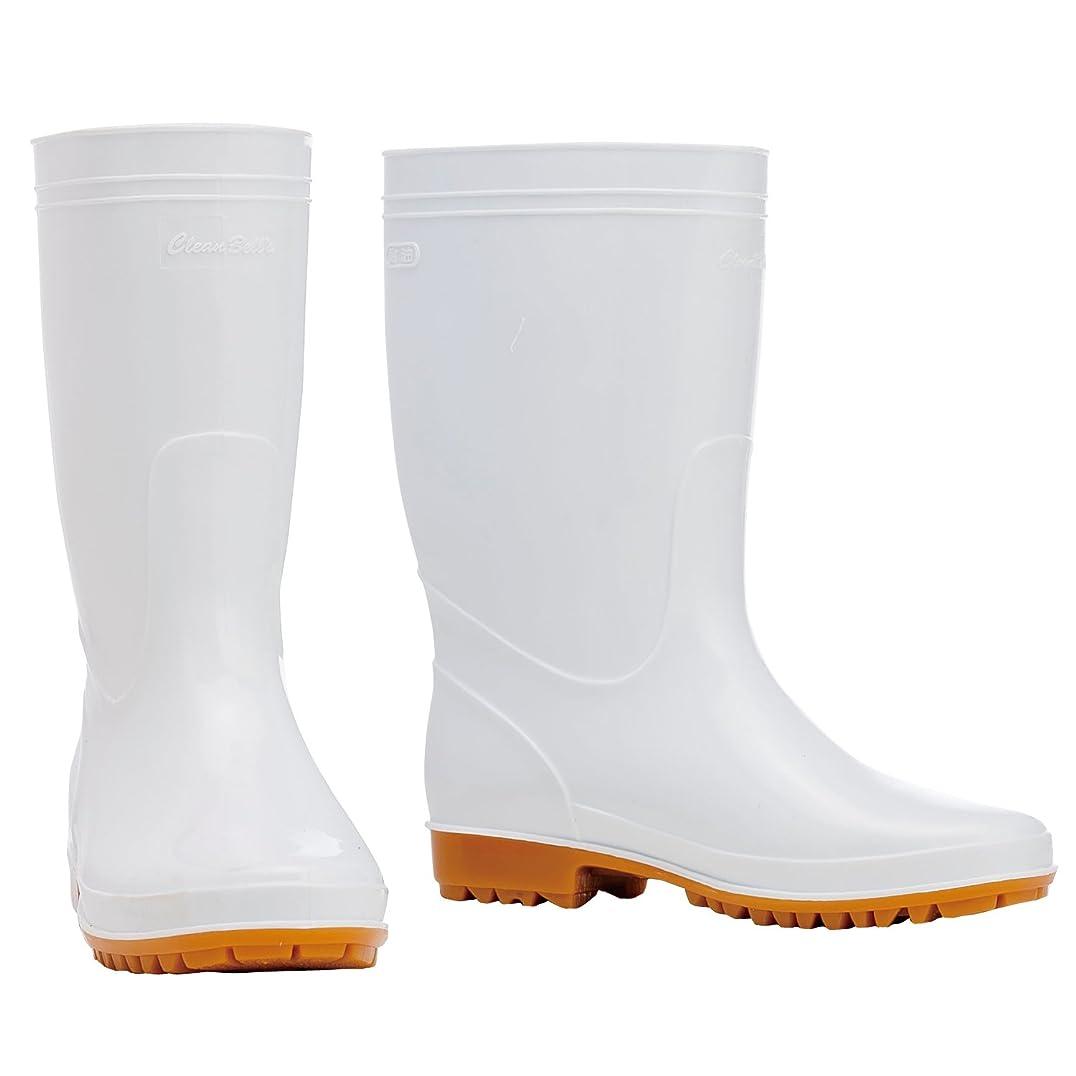 放棄クローンフレキシブル川西工業 クリーンベルズ 衛生耐油長靴 ホワイト 25.5 【衛生耐油長靴】 #8300