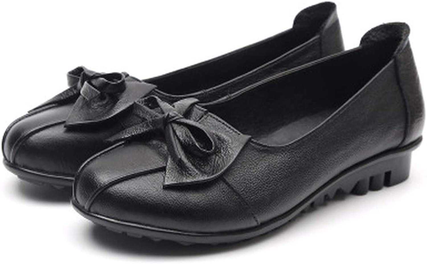 PREtty-2 2019 shoes Woman Genuine Leather shoes 3 colors Loafers Women's Flat shoes Women Flats