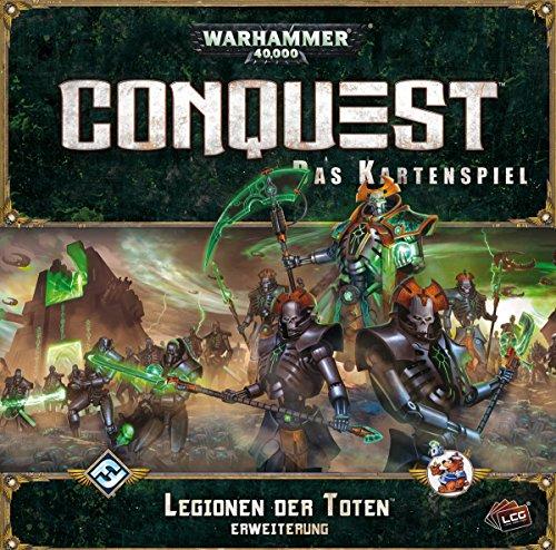 Asmodee HEI1114 Warhammer 40.000: Conquest Legionen Toten Deluxe Erweiterung, Spiel