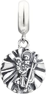 Chamilia St. Christopher Soul Charm Bead 2010-3162 Inspirational Card Messsage Included