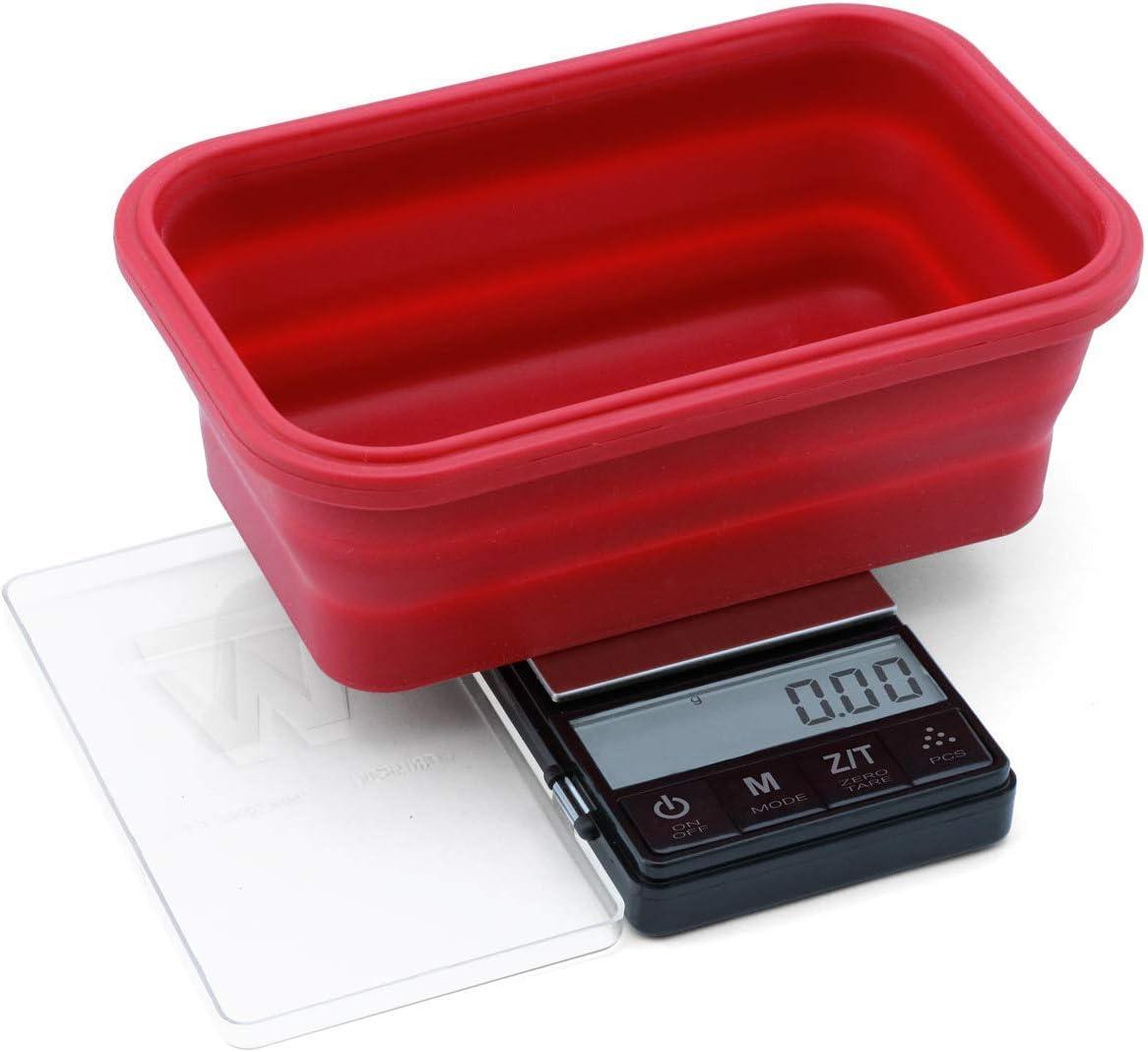 Boston Mall Truweigh Crimson Digital Mini Translated Scale 200g 0.01g x Black Digit -