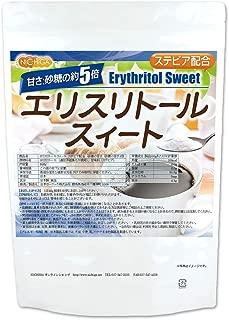 【砂糖の甘さ 約5倍】 エリスリトールスイート 950g ステビア 配合 エリスリトール [01] NICHIGA(ニチガ)