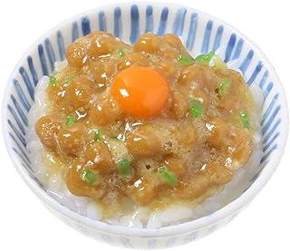 食品サンプル屋さんのマグネット(納豆ごはん)【食品サンプル ミニチュア 雑貨 食べ物 日本 外国 土産 リアル】