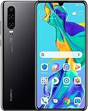 "Huawei P30 128GB+6GB RAM (ELE-L29) 6.1"" LTE Factory Unlocked GSM Smartphone (International Version) (Black) (Renewed)"