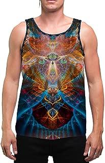 Shaman Animal   Mens   Tank Top   Aesthetic   Clothing   Tanks   Psychedelic   Festival   Psy   Animal Totem   Shaman