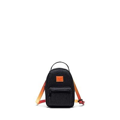 Herschel Supply Co. Nova Crossbody (Black Crosshatch Sunset) Handbags