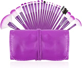 Makeup Brushes Set, Beautiful Purple Make Up Brushes Essential Beauty Tool Kits for Face Powder Cream Liquid Cosmetics Eyeshadow Blending