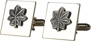 Marlow White Lieutenant Colonel (LTC) Cuff Links, US Army