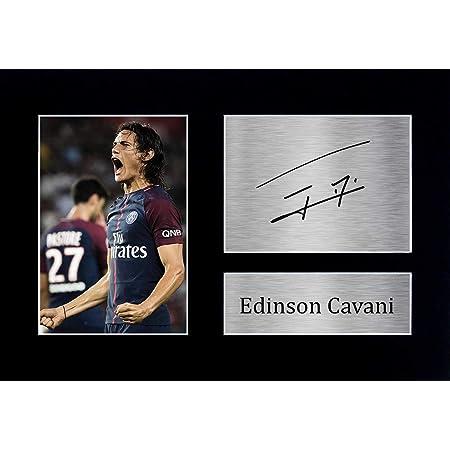 HWC Trading Edinson Cavani A4 Senza Cornice Firmato Regalo Visualizzazione delle Foto Print Immagine Autografo Stampato per Paris Saint-Germain PSG ...
