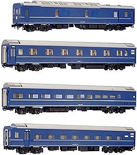 KATO HOゲージ 24系 25形寝台特急客車 基本 4両セット 3-510 鉄道模型 客車