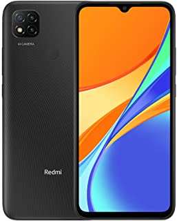 "Xiaomi Redmi 9C (64GB, 3GB) 6.53"" HD+, 5000mAh Battery, 10W Charger, Dual SIM GSM Unlocked Global 4G LTE (T-Mobile, AT&T, ..."