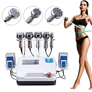 6 in 1 RF Multi-Function-Face & Body Slimming & Shaping Treatment Device Machine Wrinkles,Fat around Eyes,Face,Cheeks,Chin...