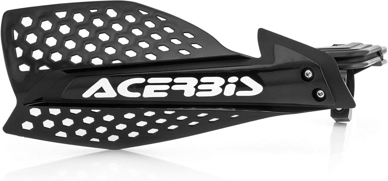 Acerbis X Ultimate Handschutz Schwarz Weiß Auto