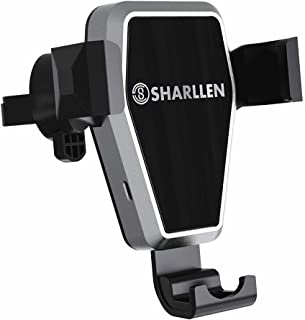 Wireless Car Charger,SHARLLEN Fast Charging Car Mount Air Vent 10W Compatible Samsung Galaxy S9/S9 Plus/S8/S8 P/Note 9/8 Wireless Quick Charge Phone Holder 7.5W Compatible iPhone Xs/Max/R/X/8 Plus/8…