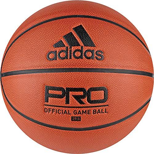 adidas Pro Off GM Ball Bola, Men\'s, Basketball Natural/Black/Black, 7