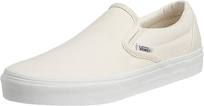 Vans Men's Slip-On(tm) Core Classics, True White, US 8.5
