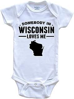 Wisconsin Badgers Baby Boy 3pc Bib and Hat Set Footie