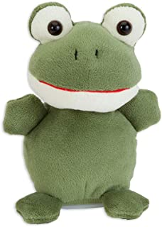 Bits and Pieces - Animated Talking Frog Plush Toy - Interactive Toy That Repeats What You Say
