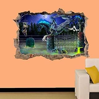ملصق جداري نمر ثلاثي الابعاد