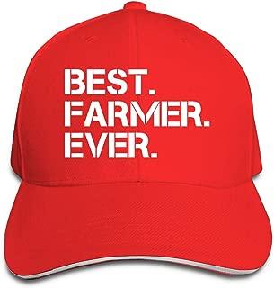 Best Farmer Ever Baseball Cap Adjustable Peaked Sandwich Hats