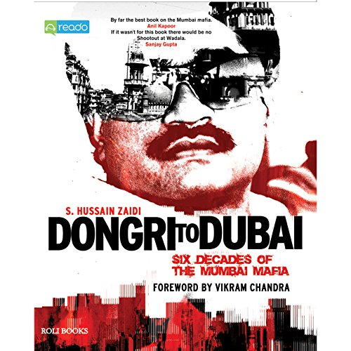 Dongri to Dubai audiobook cover art