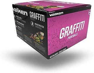 Valken Graffiti Paintballs - 68cal - 2,000ct - White Fill