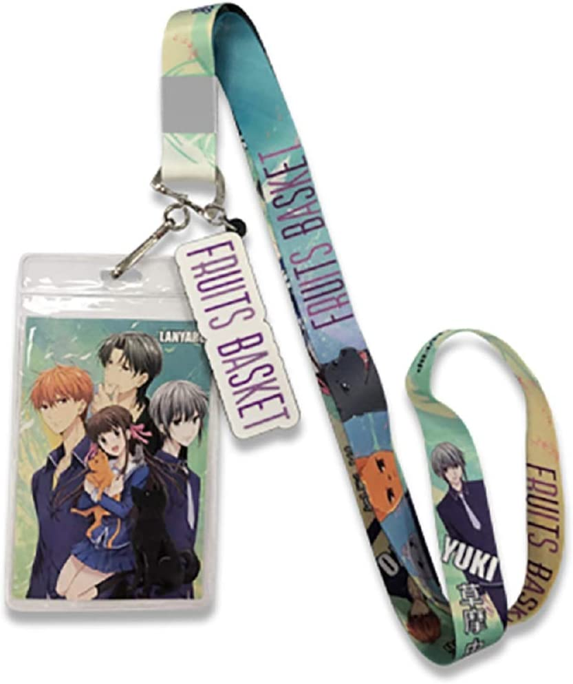 Fruits Basket Anime Group Lanyard with Badge ID discount Holder Logo overseas Ch