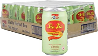 JJ Jia Jia Herbal Tea No Sugar Case, 300 ml (Pack of 24)