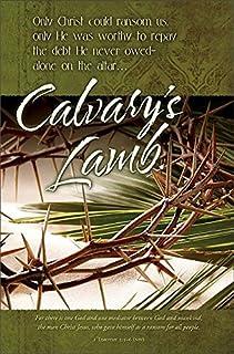 """Easter Lent Worship Bulletin -""""Only Christ Could Ransom Us"""" - KJV - (Package of 100)"""