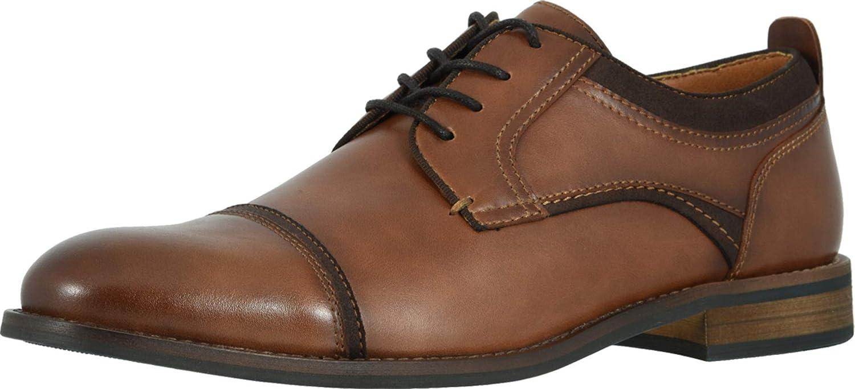 Dockers Mens Bergen Dress Cap Toe Oxford Shoe