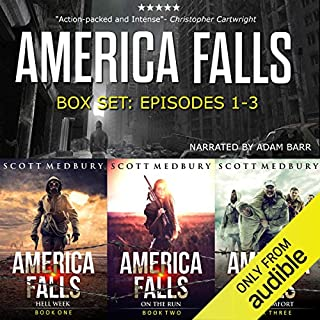 The America Falls Series: Books 1-3 audiobook cover art