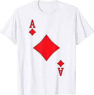 Ace of Diamonds - Playing Card Halloween Costume T-Shirt