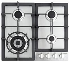 "Magic Chef 24'"" Built Stainless Steel MCSCTG24S 24"" Gas Cooktop with 4 Burners"