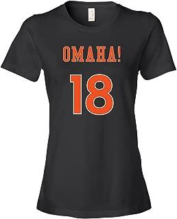 Omaha Peyton Manning 18 Tee Shirt