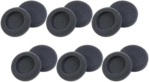 new arrival Plantronics 15729-05 Replacement Foam Ear Cushion (6-Pair), Black for use with H51, H51N, wholesale sale H61, H61N, H91, H91N, H101, H101N, SP04, SP05, PLX400 and PLX500 Headsets online sale