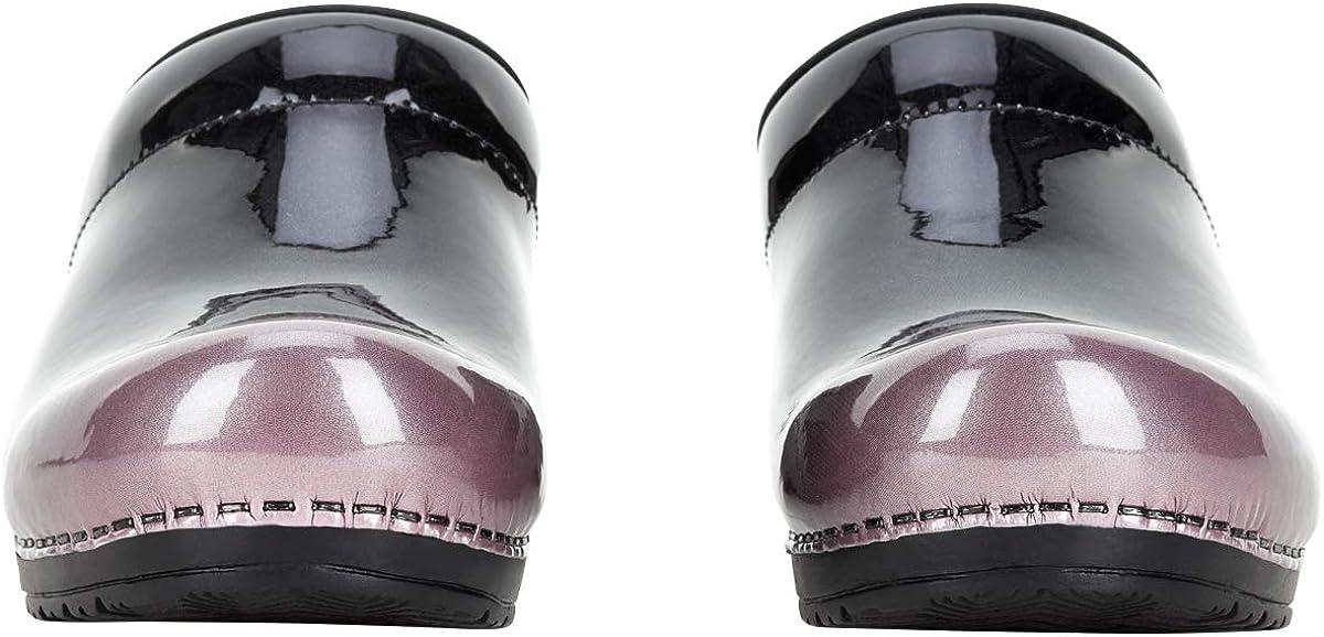 Sanita Patent Sabots ouverts Produit original fabriqu/é /à la main Sabots flexibles pour femme