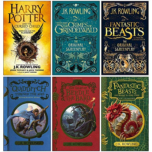 J.K. Rowling Collection 6 Books Set...