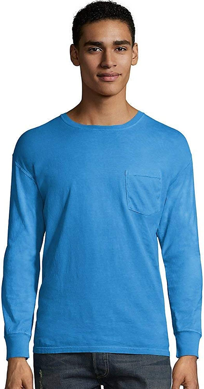 Hanes Men's ComfortWash Garment Dyed Long Sleeve Pocket Tee B06ZZSQQWB B06ZZSQQWB B06ZZSQQWB  Qualität und Verbraucher an erster Stelle f67a76