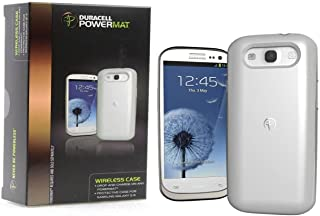 Duracell Powermat Wireless Charging Case for Samsung Galaxy S3 White RCG3W1