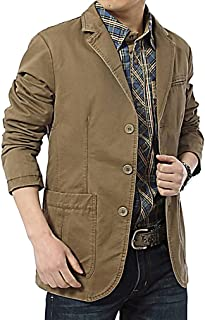 Men's Fashion Casual Denim Blazer