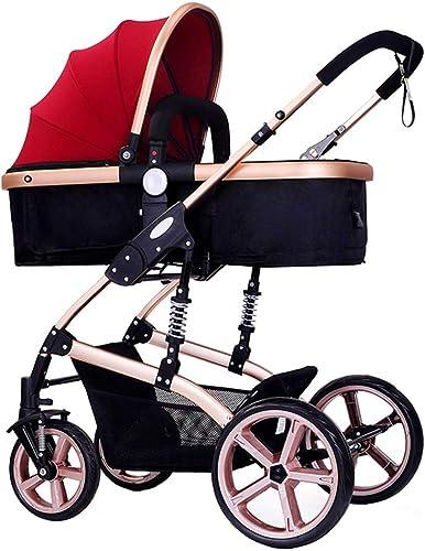 solo cómpralo Cochecito de bebé ligero para Niños de 0 a a a 3 años Viaje con Diseño plegable Silla para Niños   Toldo de Oxford   Sistema de seguridad de 5 puntos   A prueba de golpes 8 ruedas   Asiento ajustable  venta con alto descuento